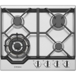 Westinghouse 60cm Gas Cooktop - Stainless Steel